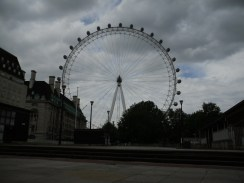 The London Eye. There will be more photos