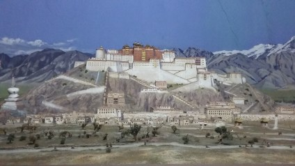 Model of this place in Tibet