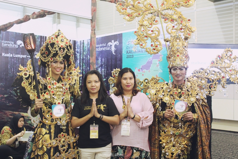 wonderful indonesia di sarawak timber expo 2019