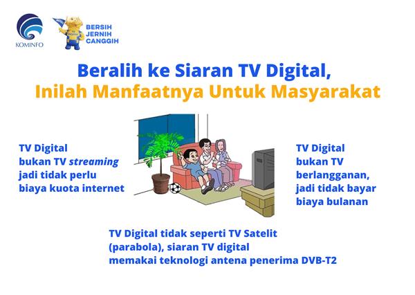 siaran tv digital inilah manfaatnya
