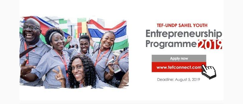 TEF-UNDP Sahel Youth Entrepreneurship Programme 2019