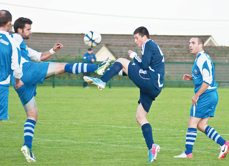 Football Quigleys' Point Swifts vs Buncrana Hearts, Muff, 30-8-2