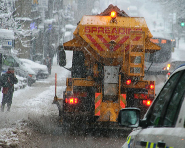 Gritters are ready and waiting to keep Inishowen roads clear.