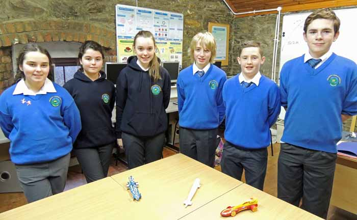 PAGE 11 Colaiste Chineal Eoghain F1 team