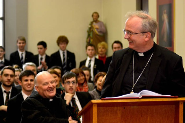 Announcement of the new Bishop of Derry, St Eugenes' Cathedral D