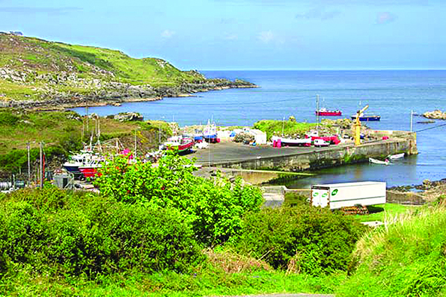 Glengad Pier is in need of repair according to Cllr. McDermott