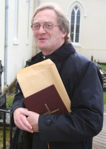 Fr Fintan Diggin becomes the new curate at Burt.