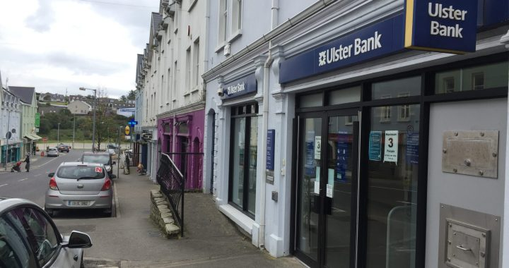 Inishowen's only Ulster Bank branch in Buncrana
