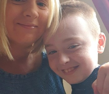 Alison Doherty's son Ryan was diagnosed with dyspraxia three years ago.