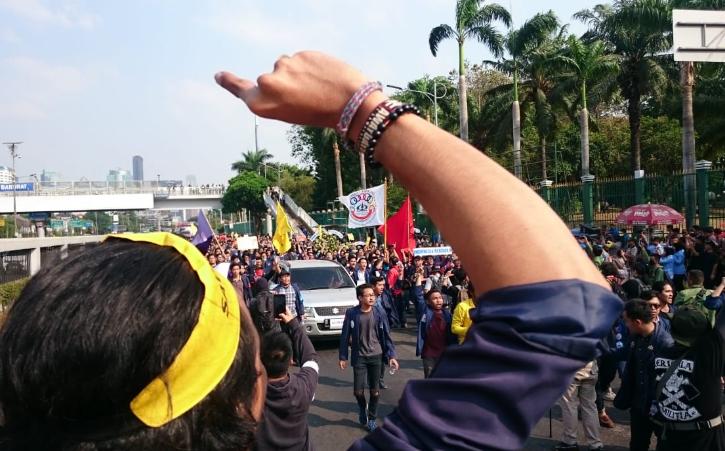 aksi mahasiswa trisakti