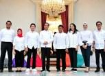 Jokowi dan staf khusus