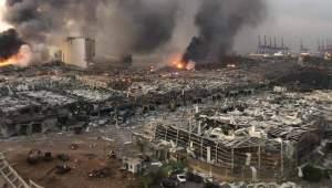 ledakan di beirut lebanon
