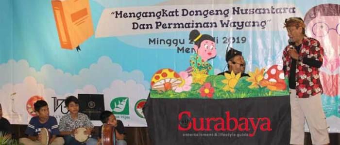 Lestarikan Seni Wayang dan Dongeng, Rotary Club Surabaya Kaliasin Undang Anak-Anak ke Hotel Mercure