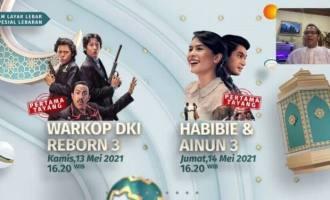 Permalink ke 'Lebaran Penuh Cinta' Hibur Pemirsa SCTV: Ada 'Warkop DKI Reborn 3' dan 'Habibie & Ainun 3' Tayang Perdana di Layar Kaca