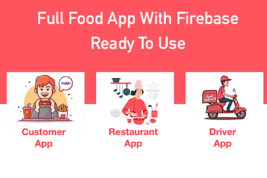 ionic 5 food delivery full (Android + iOS + Admin Panel PWA) app with firebase - 5