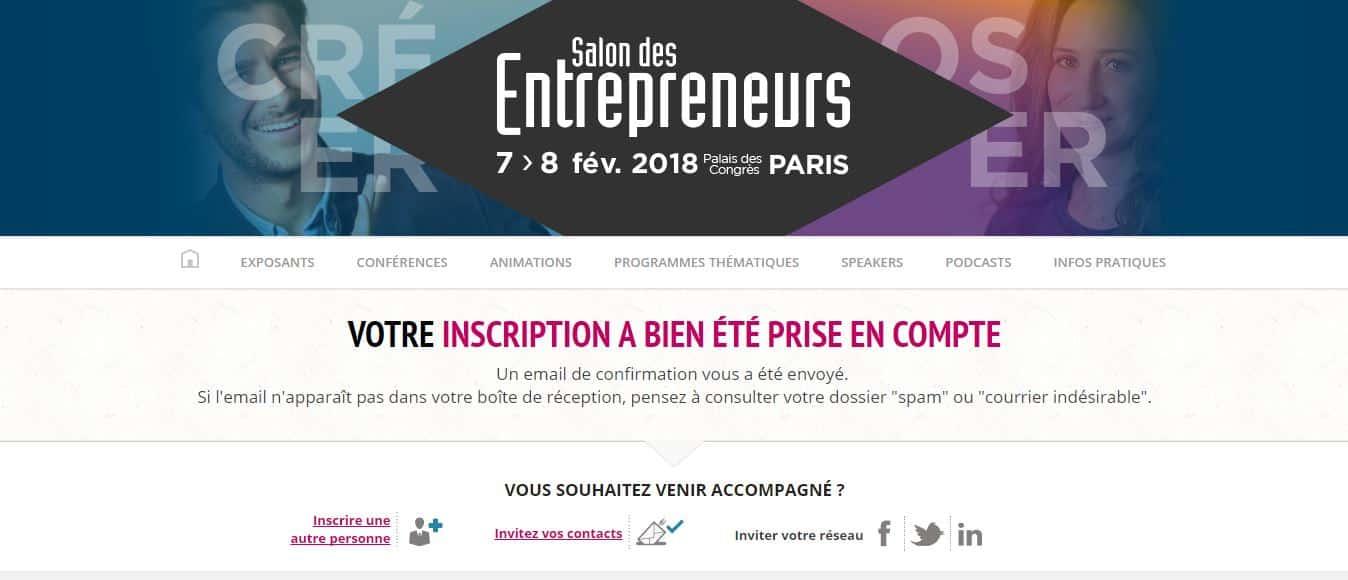 Remise du prix du concours cr a iut au salon des for Salon des entrepreneurs de paris