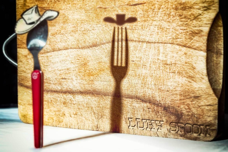 La cuillère Lucky Luke ou plus exactement Lucky Spoon.