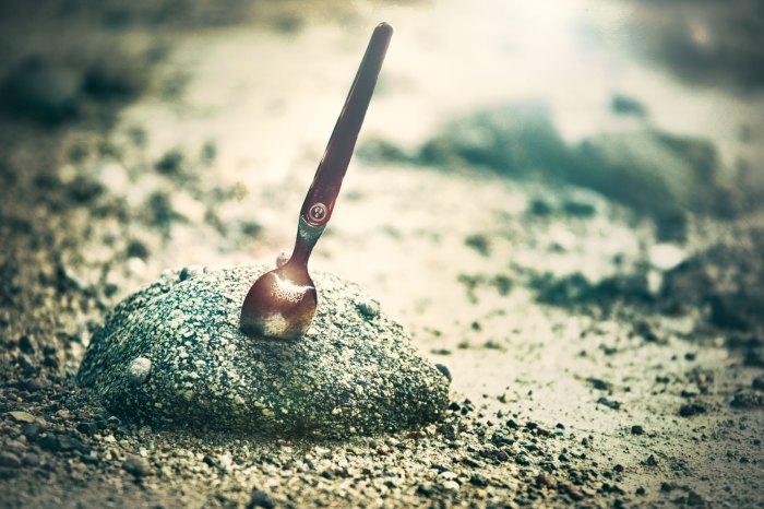 Au royaume de la table ronde de la cuisine, se trouve une cuillère mystique : Excalibur !