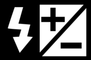 Symbole de la commande de compensation du flash des appareils photo de marque Nikon.