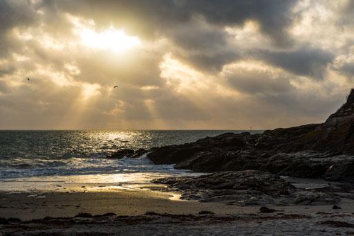 Transcription de l'ambiance si particulière des plages bretonnes