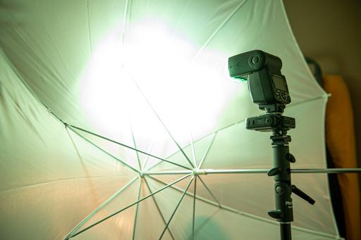 Illustration des accessoires pour modélisation de la lumière pour flashes cobra