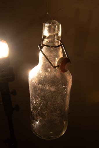 Photo de base : la bouteille