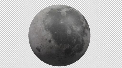Modélisation 3D de la Lune avec Blender
