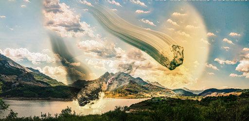 Photo d'illustration de du photomontage du mois d'août à propos des pluies d'étoiles filantes