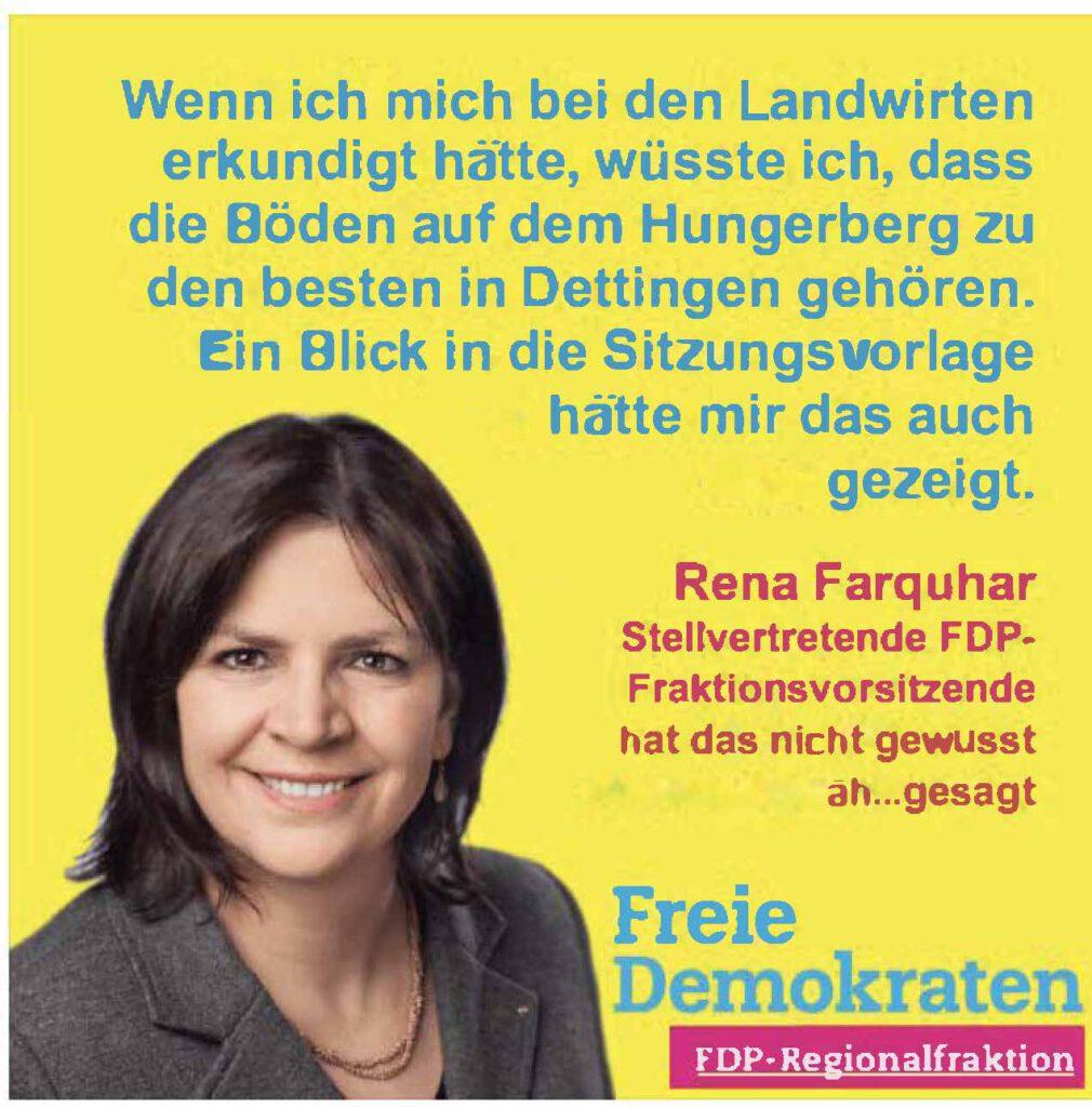 Rena Farquhar Esslingen FDP Region Hungerberg Dettingen