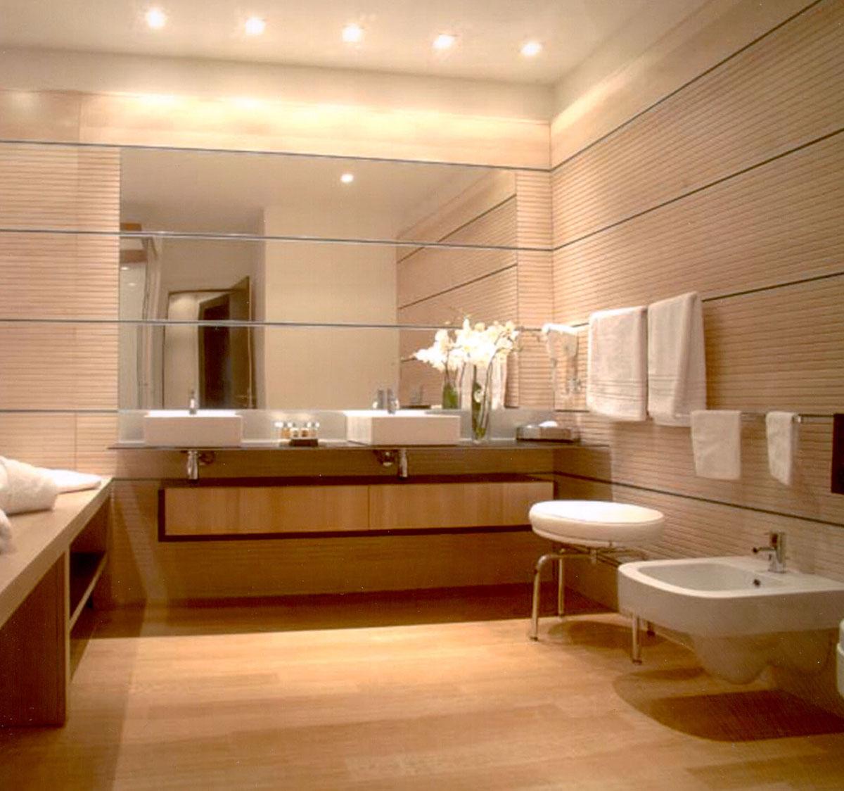 Parkett Im Badezimmer Holzboden Für Die Wellnessoase