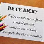 Felicitări celei de-a doua generații de voluntari AICRiști