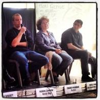 Adrien Chauvin du Bondy Blog avec Zouina Meddour et Abdel Makouf