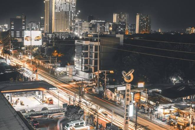Cebu City at Night