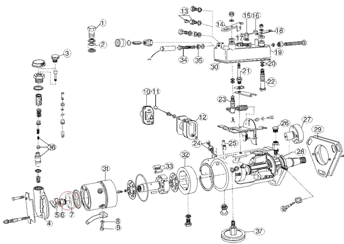 Lucas Cav Injector Pump Diagram