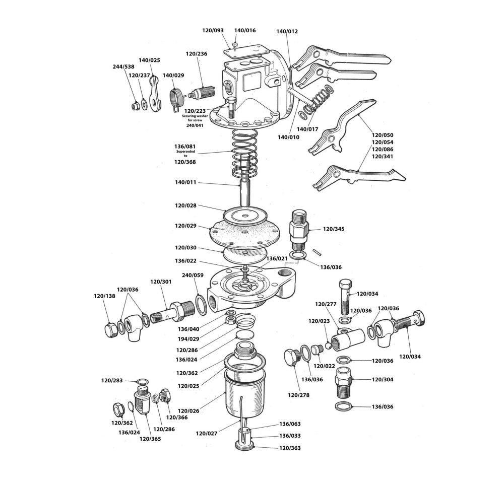 John Deere Injection Pump Diagram John Deere Stanadyne
