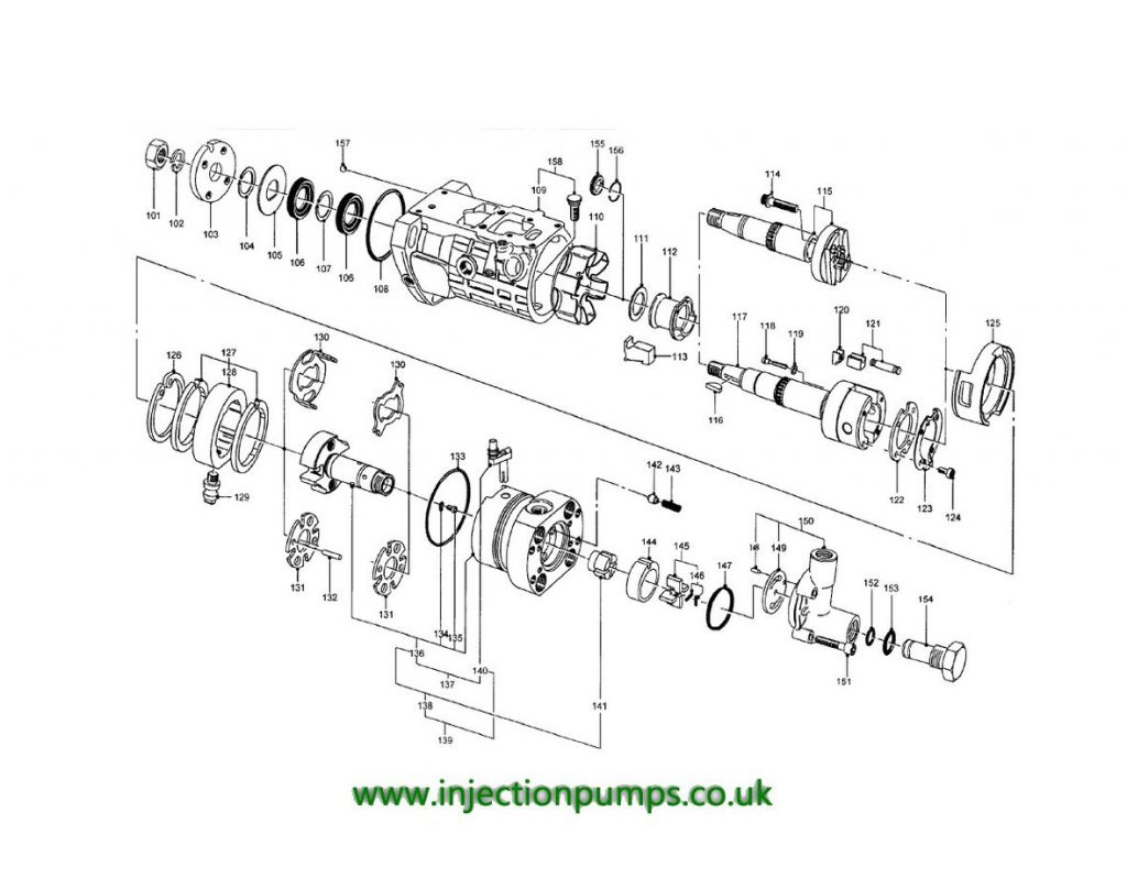 v2203 injector pump diagram