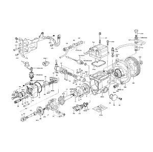 Seal repair kit for Mitsubishi PajeroShogun 4M40 28TD