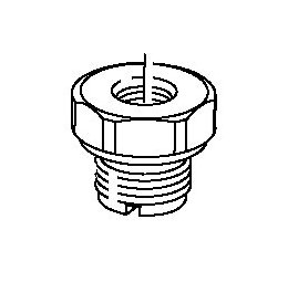 CAV DPA and DPS fuel inlet connection nut 7174-920