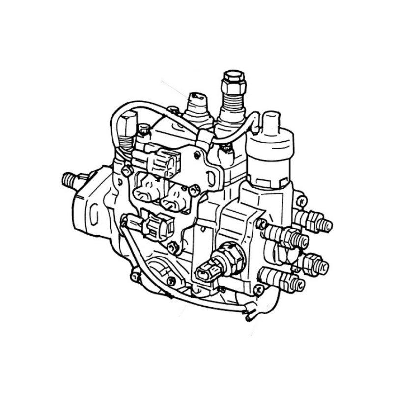 Seal repair kit for Denso EDC pumps. Genuine Denso