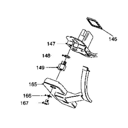 Position sensor seal for Lucas Delphi EPIC Ford Transit