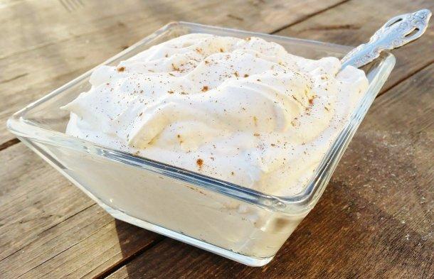 Fresh Cinnamon Whipped Cream