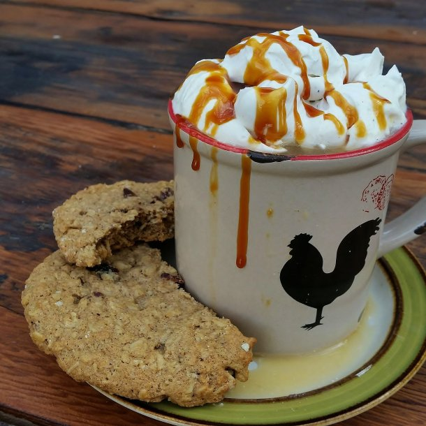 Spiced Apple Cider with Brown Sugar Cardamom Whipped Cream (2)