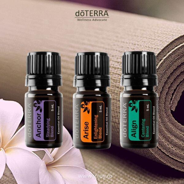 Set uleiuri esentiale Yoga Collection doTerra - Injoy