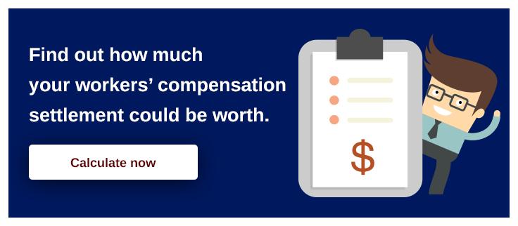 workers compensation benefits settlement amount