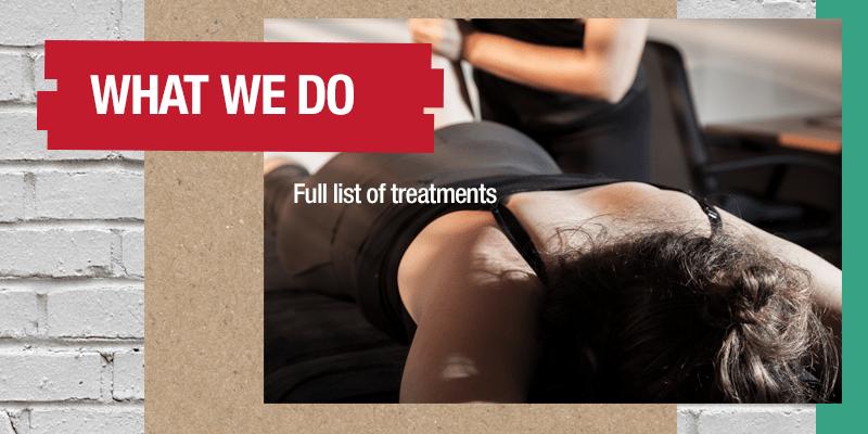 Injury Active Clinic Treatments