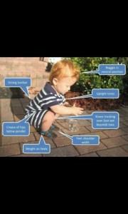 Baby Squatting
