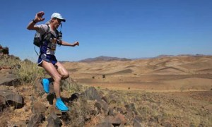 Ultramarathon competitors in Morocco