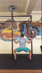 Sumo squat with squat