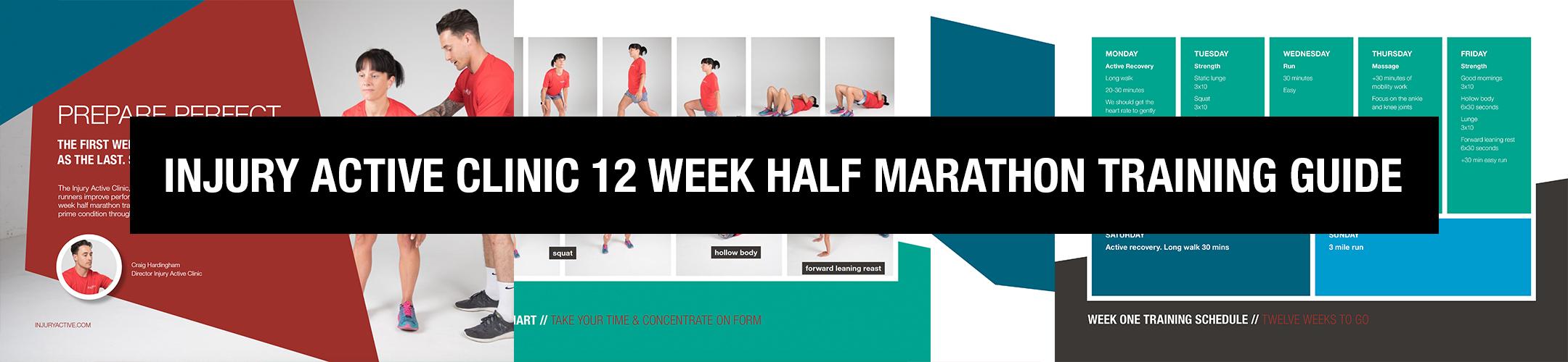 FREE 12 WEEK HALF MARATHON TRAINING GUIDE FROM INJURYACTIVE.CO.UK