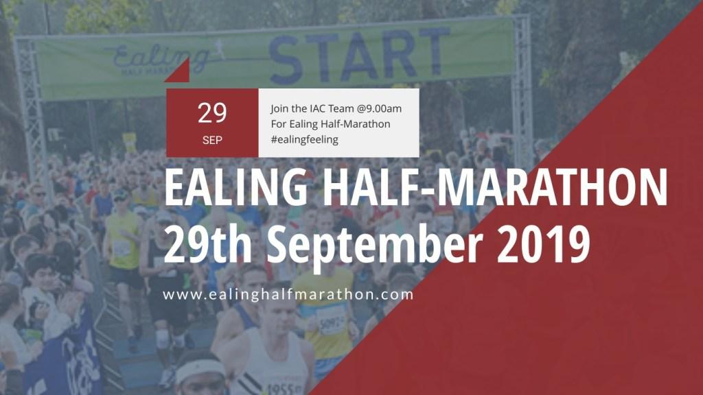 Upcoming Events - Ealing Half Marathon Event